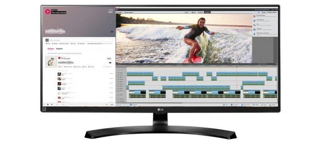 LG 34UM88-P monitor ancho