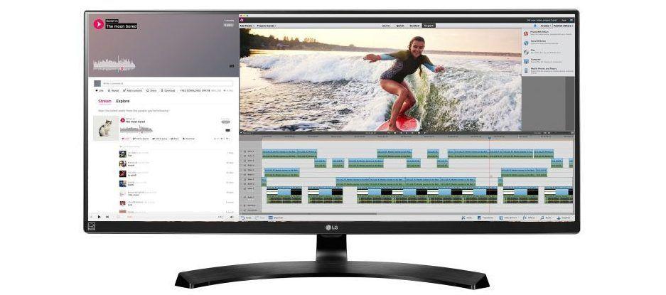 Monitor LG ultrapanoramico 34UM88-P