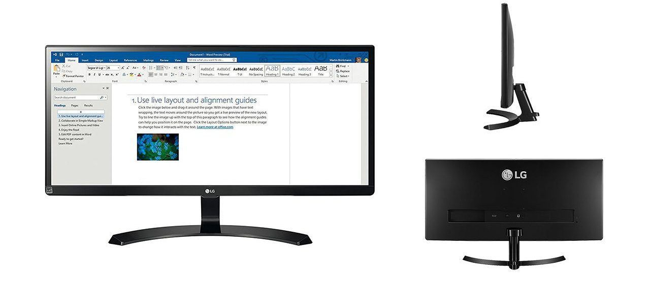 LG 29UM59A-P monitor ultrawide 29 pulgadas