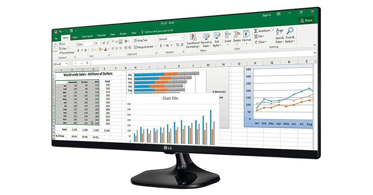 monitor lg ultrawide 25