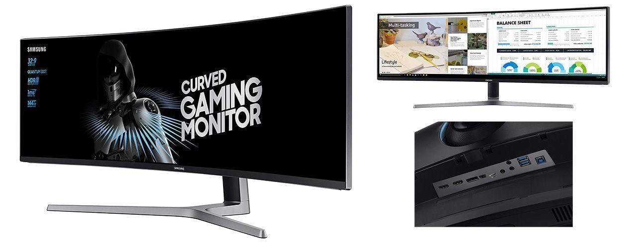monitor ultrawide samsung 32:9