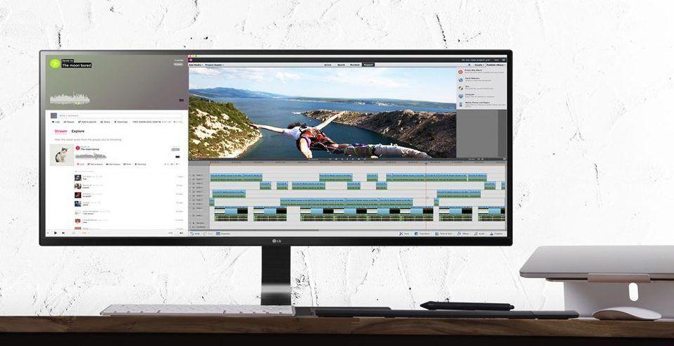 LG 29UM59A-P monitor ultra ancho