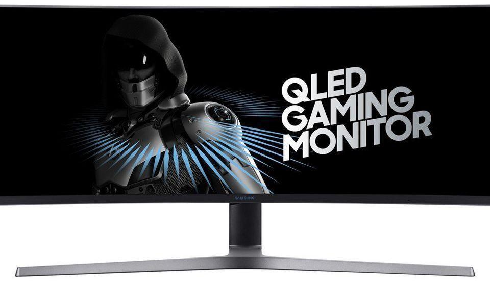 Samsung LC49HG90DMU monitor ultra panoramico
