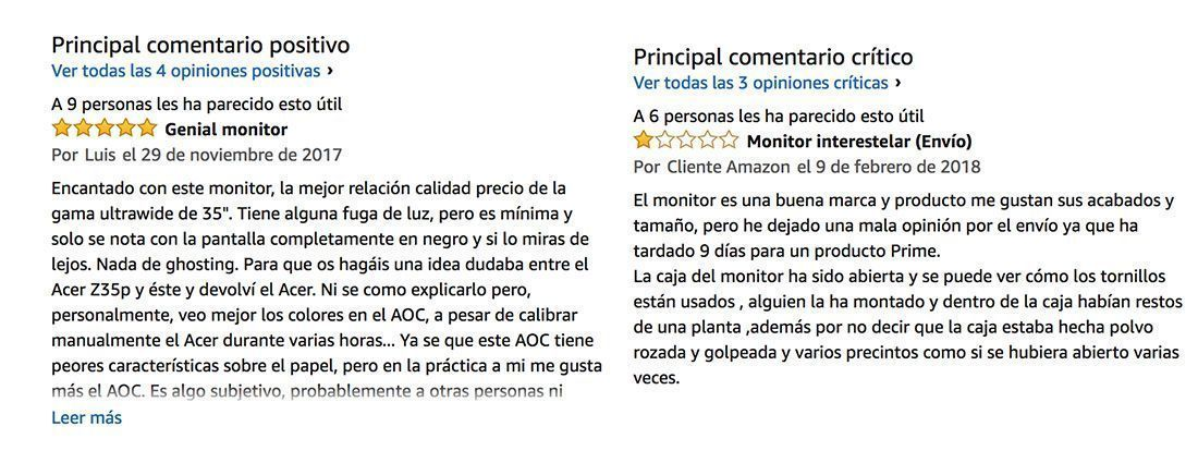 opiniones aoc ag352ucg