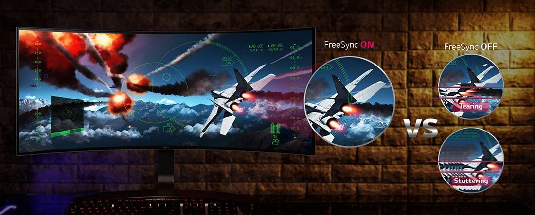 monitor 34uc88 freesync amd