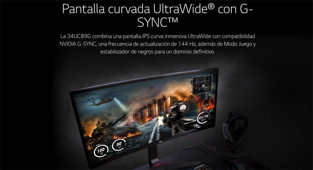 LG 34UC89G-B review g-sync