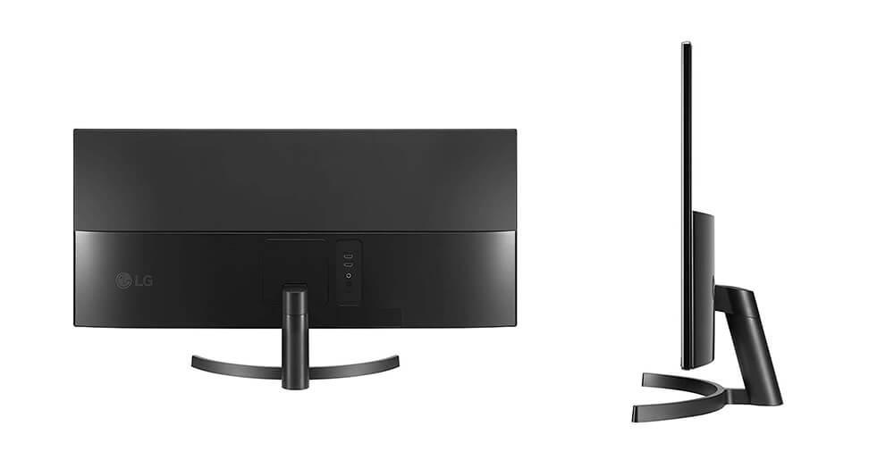 diseño monitor LG 34wk500-p