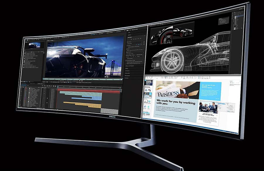 opiniones monitor 49 pulgadas Samsung C49hg90dmu