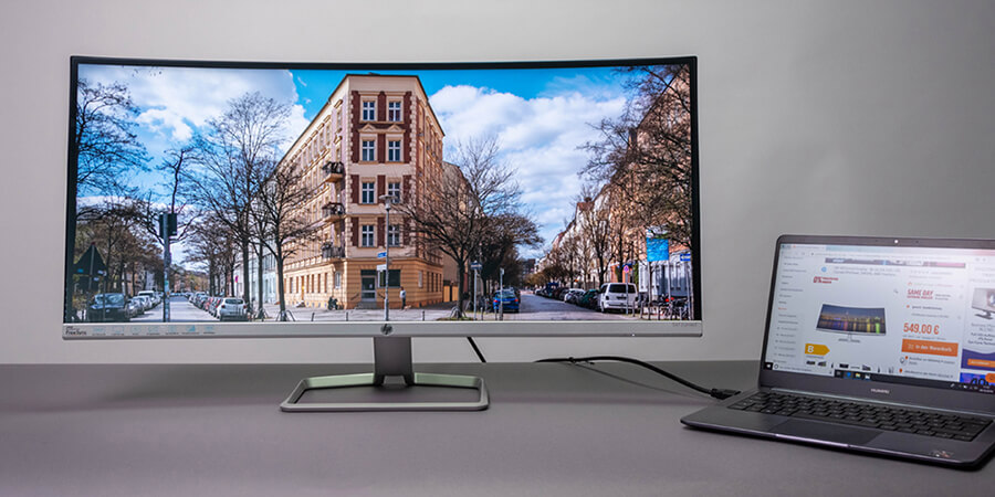 review monitor ultrawide hp 34f