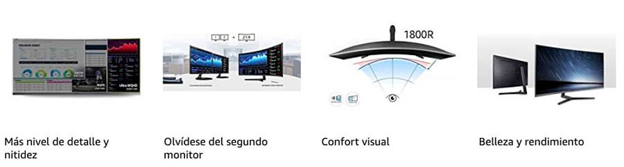 caracteristicas Samsung C34h892wju