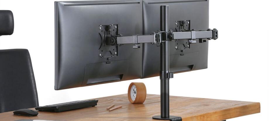 mejores soportes doble para monitores de escritorio